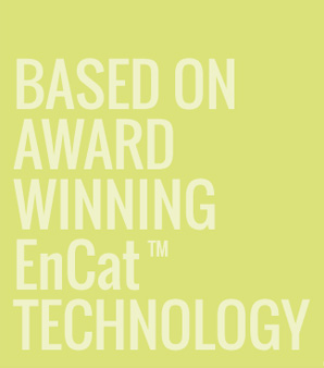 BASED ON AWARD WINNING ENCAT TECHNOLOGY